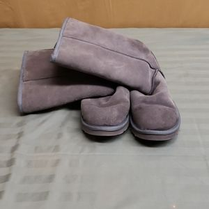 A pair of UGG boots